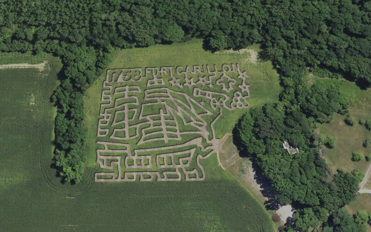 Maze by Moonlight at Fort Ticonderoga: Navigate six acres of corn stalks at night, using clues from the fort's history - including some spooky tidbits. The moonlight maze will run from 7 to 10 p.m. on Friday, Oct. 25, and Saturday, Oct. 26. Tickets are $10.