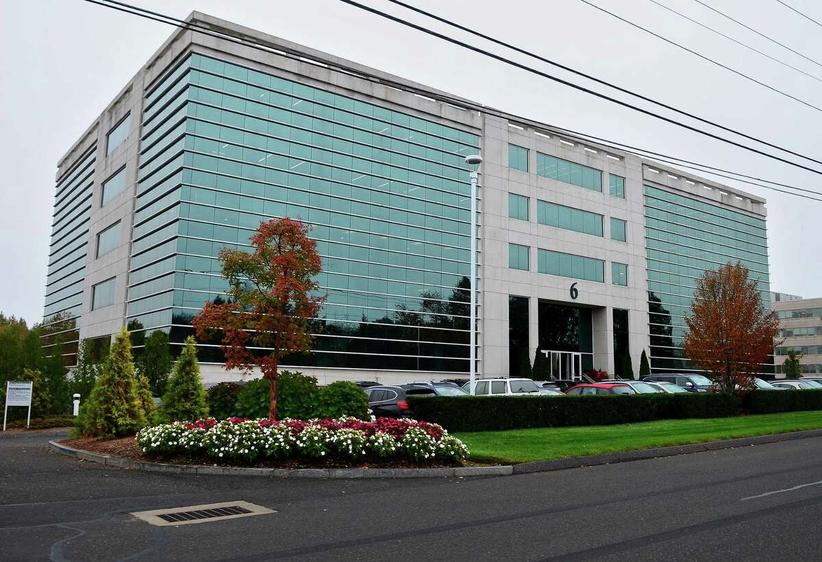 Edgewell's headquarters at 6 Research Drive in Shelton, Conn.
