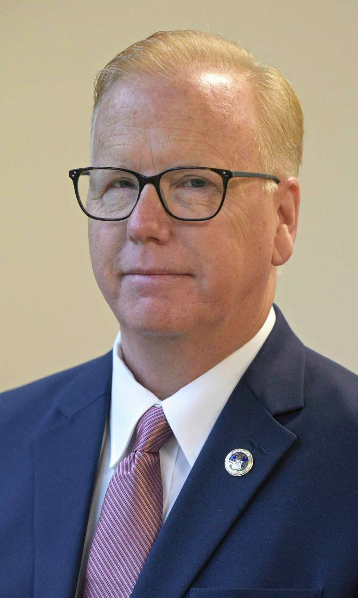 Mayoral candidate for Danbury, Republican incumbent Mark Boughton. Tuesday, October 22, 2019, in Danbury, Conn.