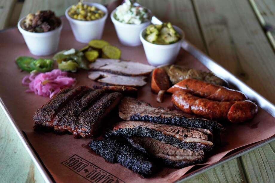Brisket, ribs, turkey, sausage and sides at Blood Bros. BBQ Photo: Melissa Phillip,  Houston Chronicle / Staff Photographer / © 2019 Houston Chronicle