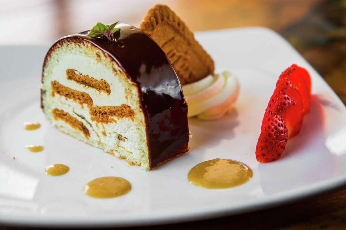 Speculoos cake at Brasserie 1895