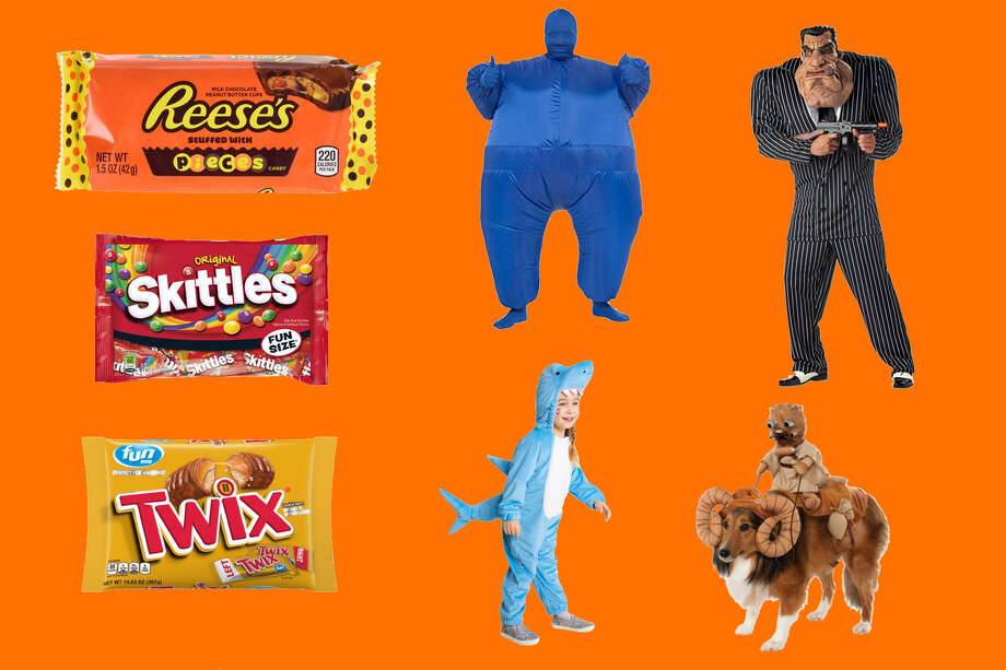 Buy your candy and costumes for Halloween now instead of waiting until the last minute Photo: Amazon/Target/Walgreens/SFGATE