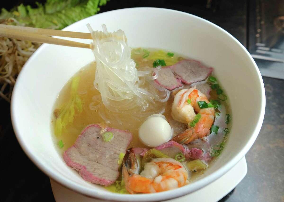 Hu Tieu at Crawfish & Noodles