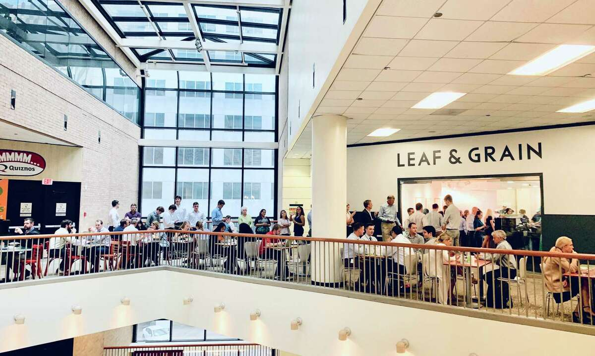 Leaf & Grain opened at Houston Center in 2017. A second downtown location will open at The Court at Allen Center in late October.
