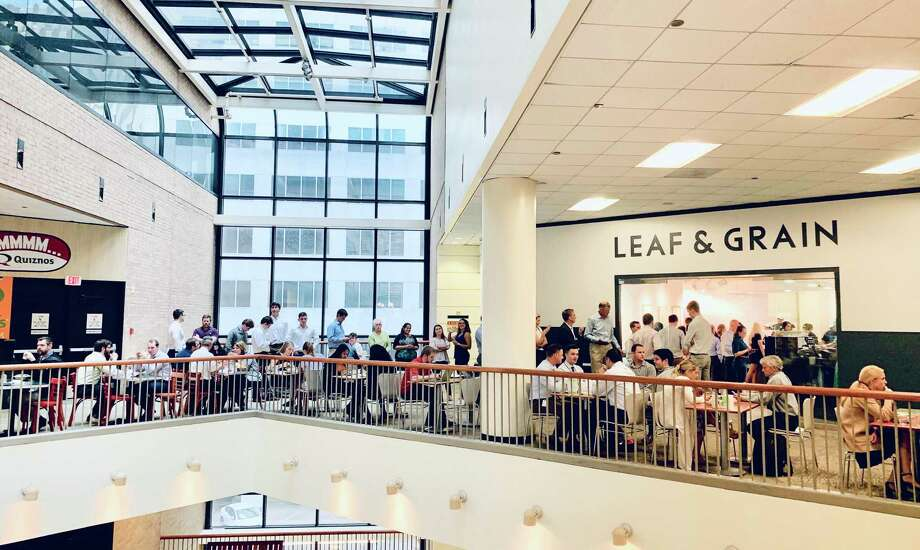 Leaf & Grain opened at Houston Center in 2017. A second downtown location will open at The Court at Allen Center in late October. Photo: Brookfield Properties