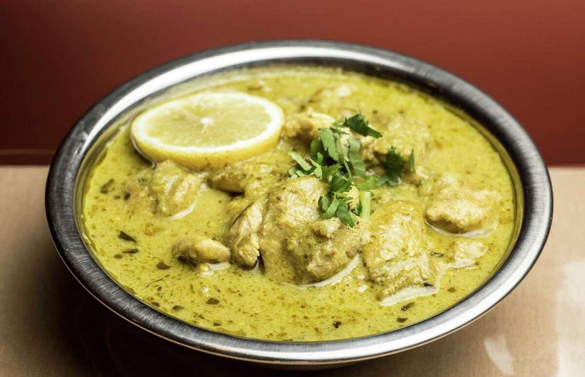 No. 9 Himalaya Cuisine: Indian and Pakistani Entree price: $-$$ Where: 6652 U.S. 59 S. Phone: 713-532-2837 Last year's ranking: 9 Pictured: Chicken hara masala, $13.75, at Himalaya.