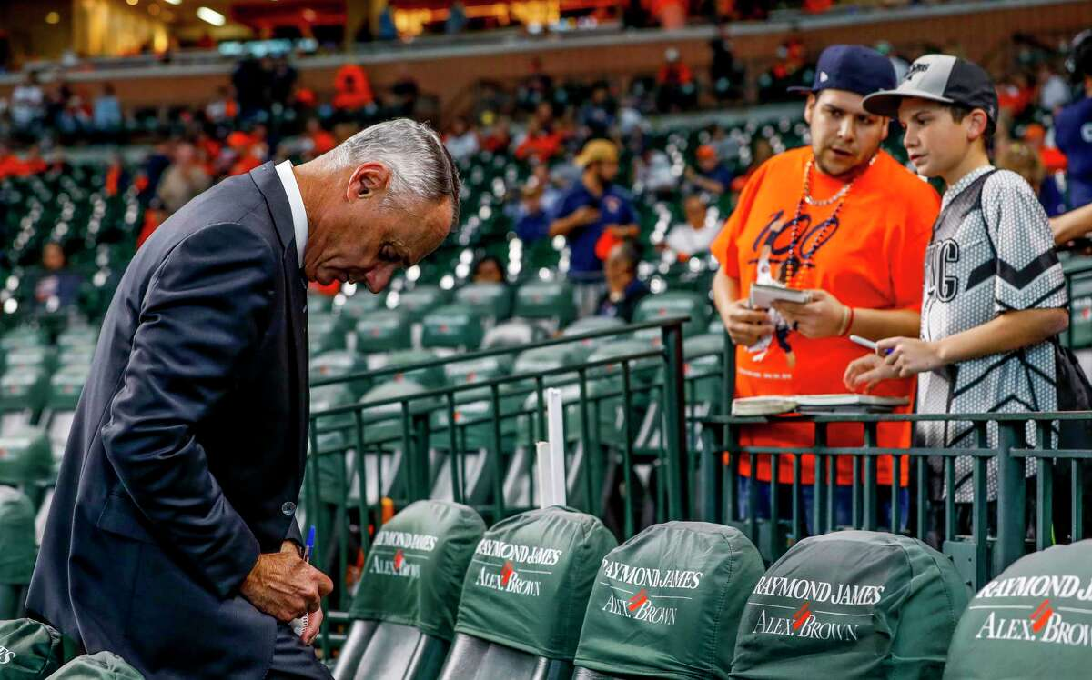Though Rob Manfred reiterated he found no evidence of wearable devices during his investigation into the Astros, he did not deny the team may have worn buzzers during the 2019 season during an interview with ESPN on Sunday.