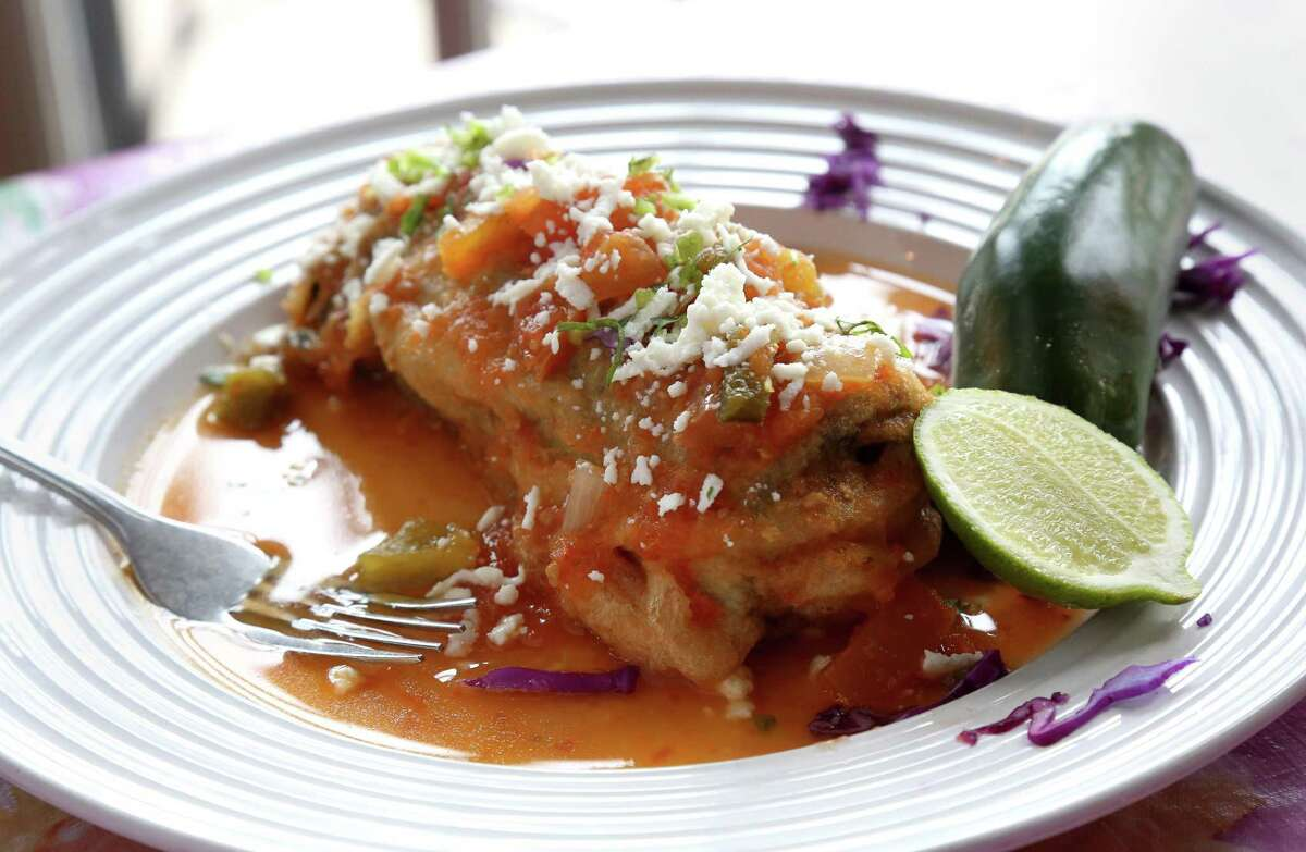 Irma's Kitchen,1475 Texas Street Who can resist the mouthwatering and distinctive chile relleno at Irma's Original in downtown Houston? Some say it's the very best in town, or at least ranks in the top ten. Owner Irma Galvan puts her distinctive culinary skills to work, adding extra love to her chiles rellenos. Also try enchiladas with Mexican cheese in red chile gravy.
