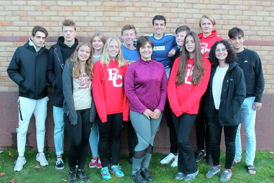 Pictured are (front row, left to right) Linnea from Denmark, Lisa from Sweden, Charlotte from Germany, Maria from Brazil, Ada from Turkey; (back row, left to right)Alessandro from Italy, Lau from Denmark, Emmy from Sweden, Federico from Italy, Javier from Spain, Mathias from Denmark, Willy from Denmark, and Nicholas from Brazil. (Photo/Robert Myers)
