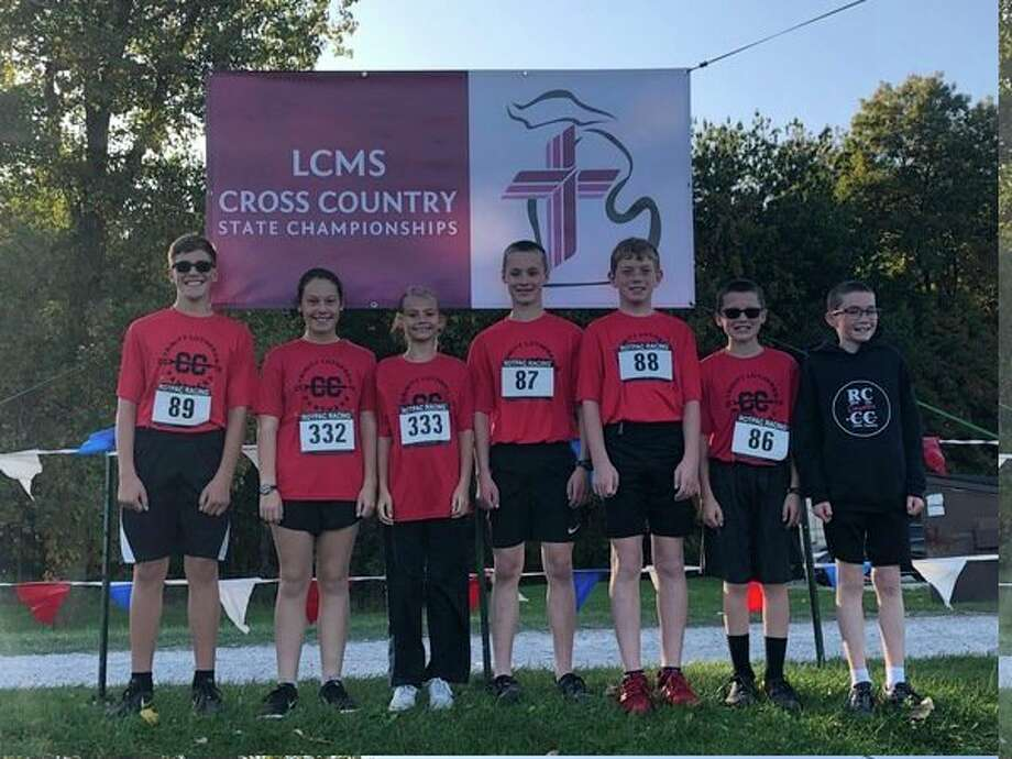 The Trinity Lutheran School team from Reed City competed in the state meet at Rochester. (Courtesy photos)