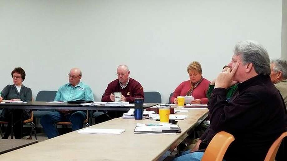 A meeting was held between The Maples Medical Care Facility, the Benzie County Board of Commissioners, the Benzie County Building Authority and Benzie County Department of Human Services to discuss a difference of opinion regarding the use of bond millage funds. (Photo/Colin Merry)