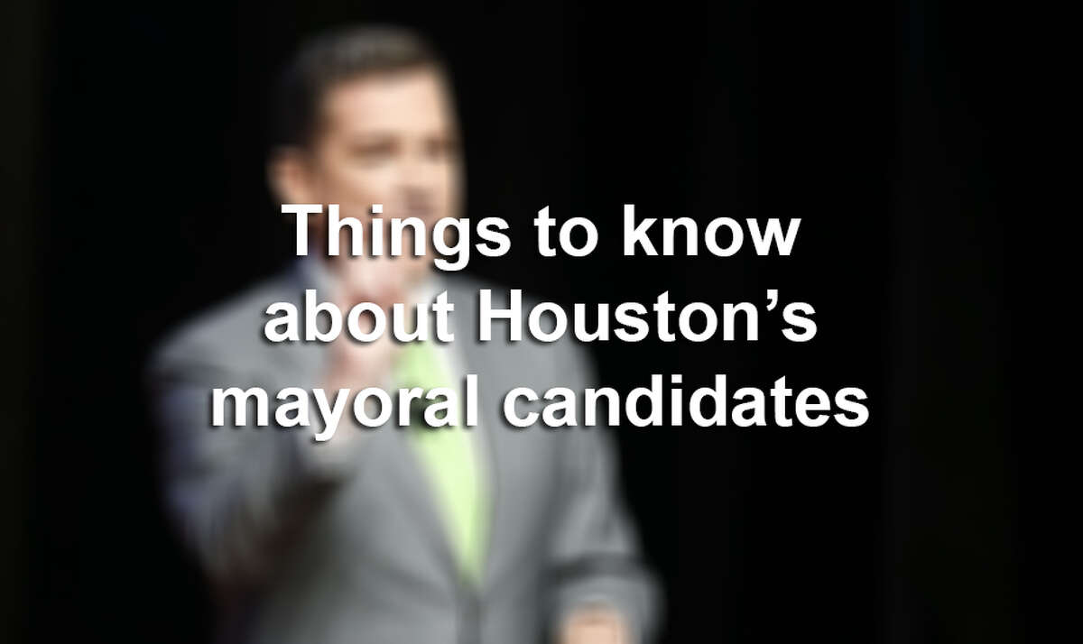 >> Keep clicking through the following gallery to learn everything you need to know about the candidates in Houston's mayoral race.
