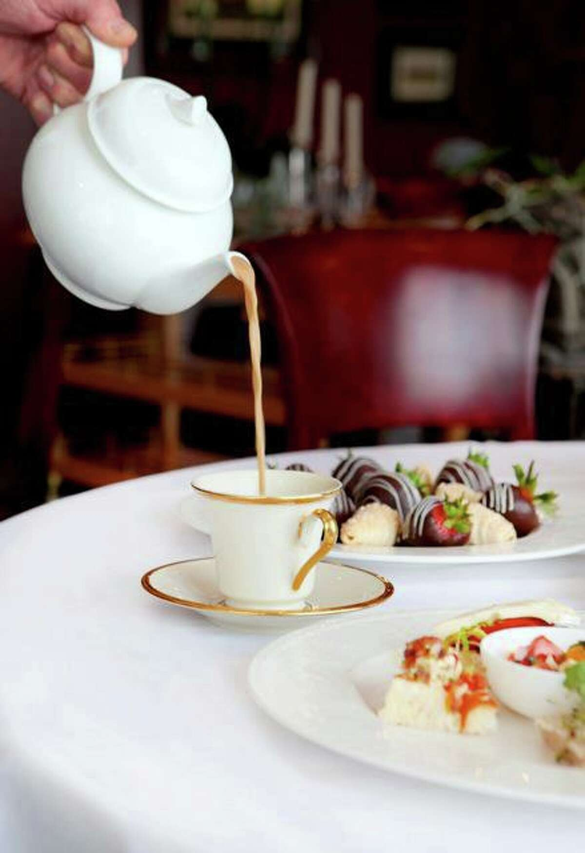Kiran's is one of the few Houston restaurants offering formal afternoon tea service.