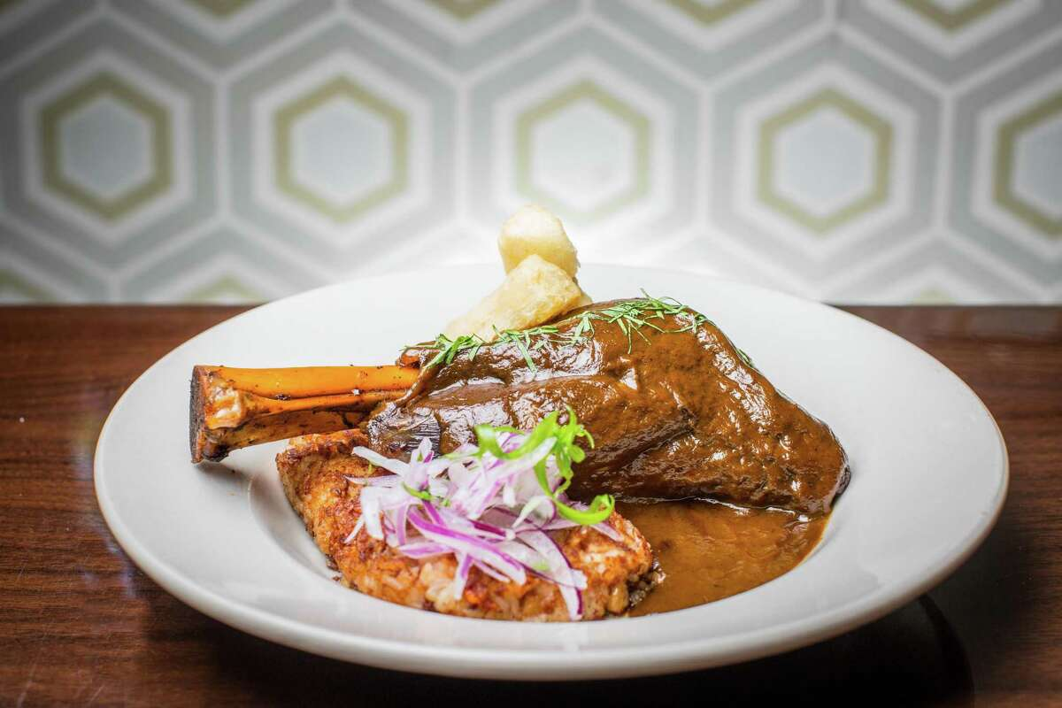 Seco de Cordero at Latin Bites which is participating in this year's Latin Restaurant Weeks celebration.