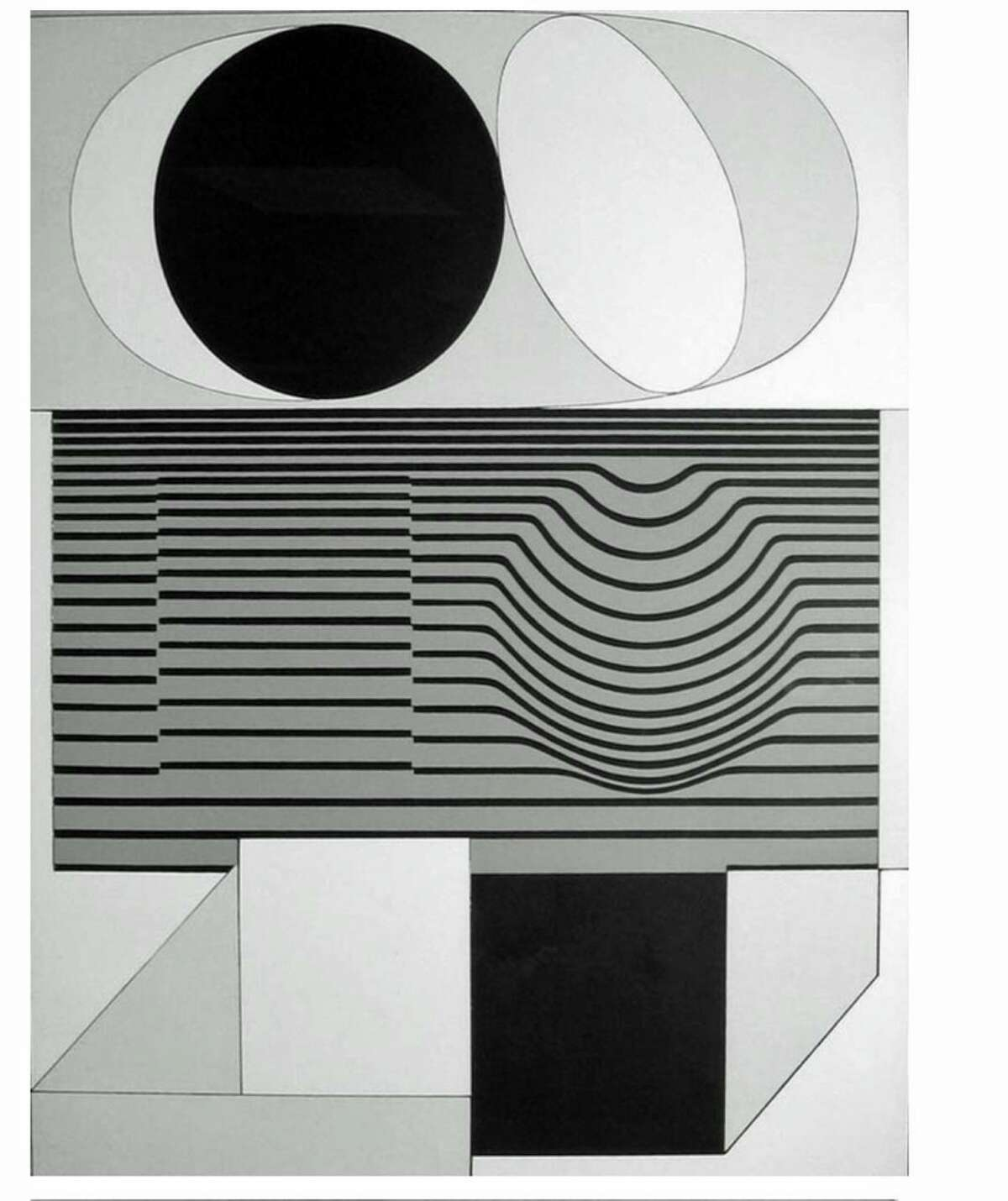 Victor Vasarely's serigraph