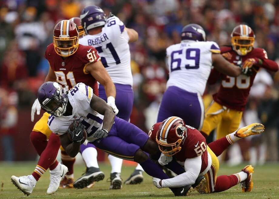 Washington Redskins (1-6) @ Minnesota Vikings (5-2) - Gametime: Thursday, Oct. 24, 8:20 p.m. EST  It was a back and forth affair between the Vikings and Lions last Sunday, but four touchdown passes from quarterback Kirk Cousins helped Minnesota pull away with a 42-30 win in Detroit and extend their win streak to three games. Cousins and the Viking offense were seemingly unstoppable, racking up 337 passing yards with the four scores and then running back Dalvin Cook added 142 yards and two touchdowns on the ground. This bodes well for an offense that started the season slower than expected when sputtering to a 2-2 record through four games.  For Minnesota, keeping pace with the red hot Packers in the NFC North is vital, and this Thursday night matchup presents a great opportunity to continue to do so, with them playing host to lowly Washington.  The Redskins lone win of the season came against the winless Dolphins, and the fact that it was only by a single point says a lot. Washington fell to 1-6 after losing to the 49ers in a sloppy, rain-soaked game on Sunday. With an 0-4 home record, and just one win on the season, oddsmakers rightfully should not be giving Washington any love as they now travel to face a streaking Vikings team on a short week. That's more than evident given the three-score spread that this game has opened with. It's one of the league's better running attacks against one of the league's worst rush defenses, and frankly, it would seem like a shock if the Vikings didn't exploit that matchup and cover the spread. This slideshow was first published on theStacker.com Photo: Patrick Smith // Getty Images
