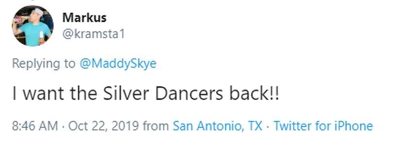 @kramsta1: I want the Silver Dancers back!!