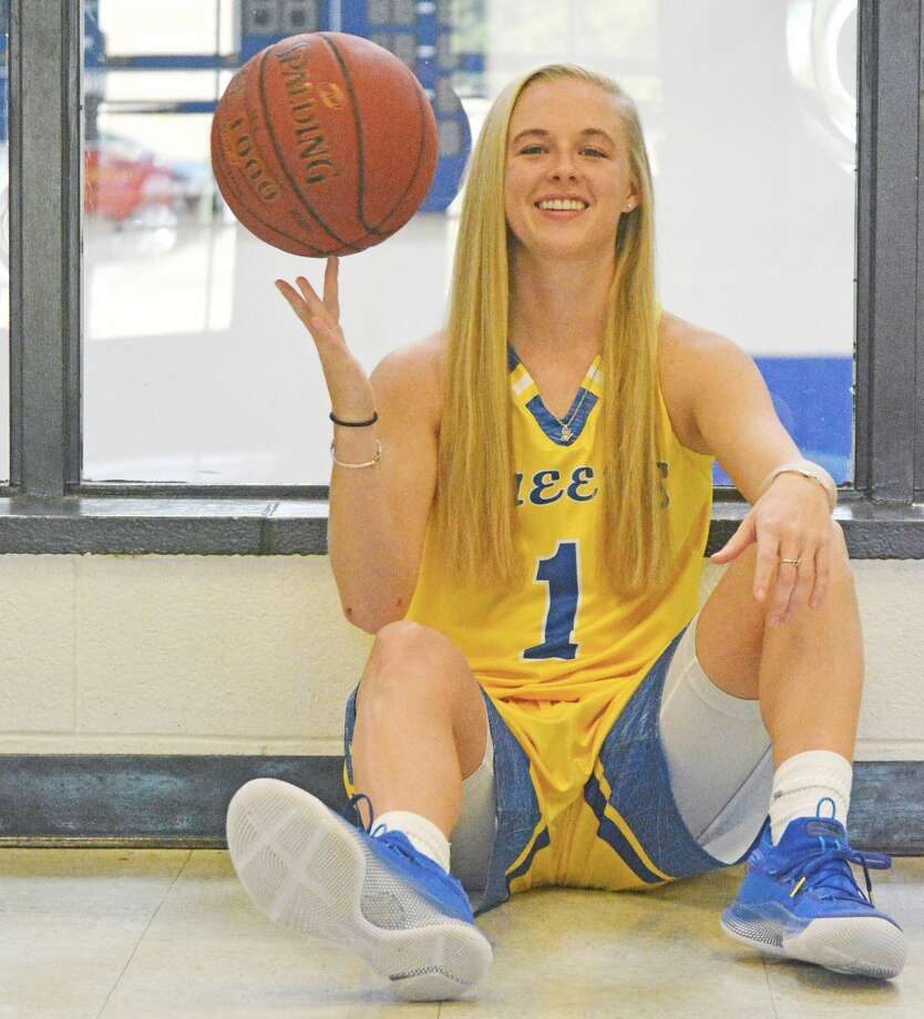 Senior point guard Morgan Bennett has made the most of her time with the Wayland Baptist Flying Queens. As she enters her final year, she's on pace to become the program's all-time leader in assists while trying to lead the Flying Queens to a national championship. Photo: Nathan Giese/Planview Herald