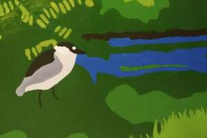 Part of a mural to be installed Oct. 26 at the Stewart B. McKinney Wildlife Refuge in Stratford.