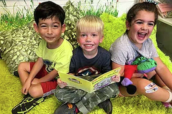 "Preschool-age children thrive in the contented and safe atmosphere of St. Paul Christian School in Westport, which has as its motto, ""Embraced by love, Empowered to Learn."""