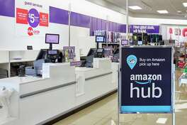 Stage Stores on Wednesday said it will allow Amazon shoppers to collect their online orders from its department stores, aiming to draw brick-and-mortar foot traffic amid the growing popularity of e-commerce.