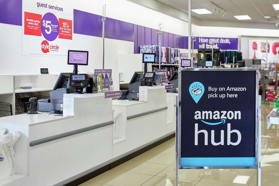 Stage Stores on Wednesday said it will allow Amazon shoppers to collect their online orders from its department stores, aiming to draw brick-and-mortar foot traffic amid the growing popularity of e-commerce. Photo: Courtesy Stage Stores