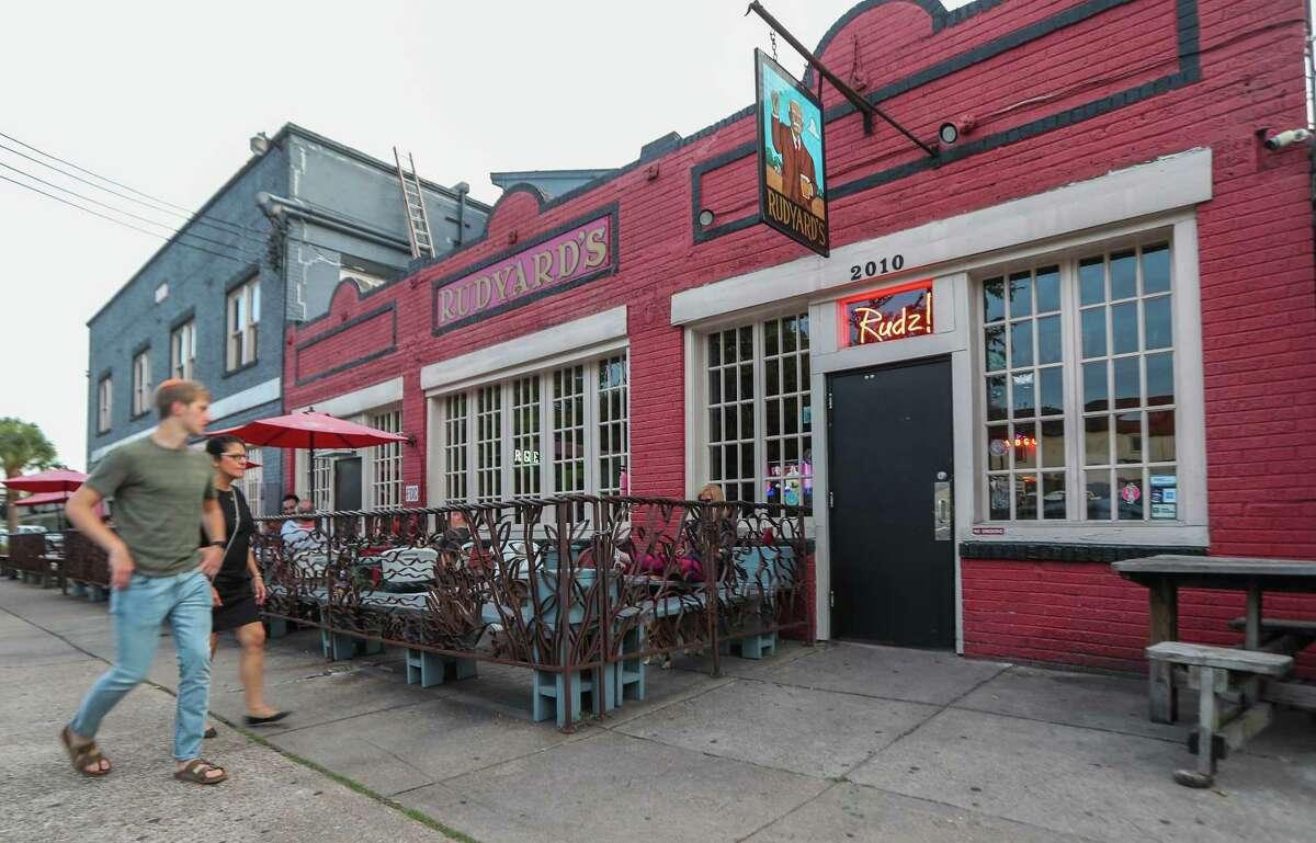 Rudyard's British Pub Monday, Aug. 20, 2018, in Houston. The pub is celebrating its 40th anniversary this year.