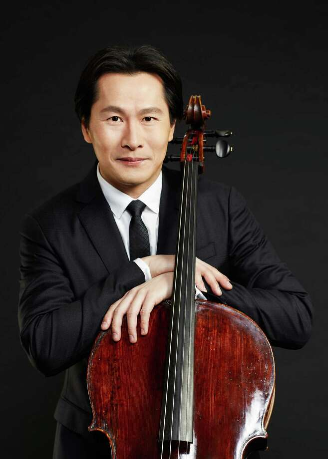 "The Bruce Museum and the Greenwich Arts Council are partnering to present a concert November 6 by renowned cellist Kenneth Kuo, who will be performing works inspired by the pieces exhibited in ""Contemporary Artists/Traditional Forms: Chinese Brushwork."" Photo: Bruce Museum / Contributed Photo / RYANSCHERB"