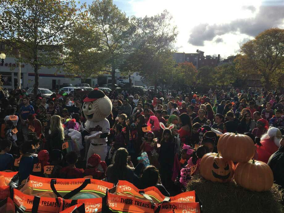 Danbury's 27th annual Halloween on the Green takes place October 26. Above is the scene at the 2017 event. Photo: CityCenter Danbury / Contributed Photo