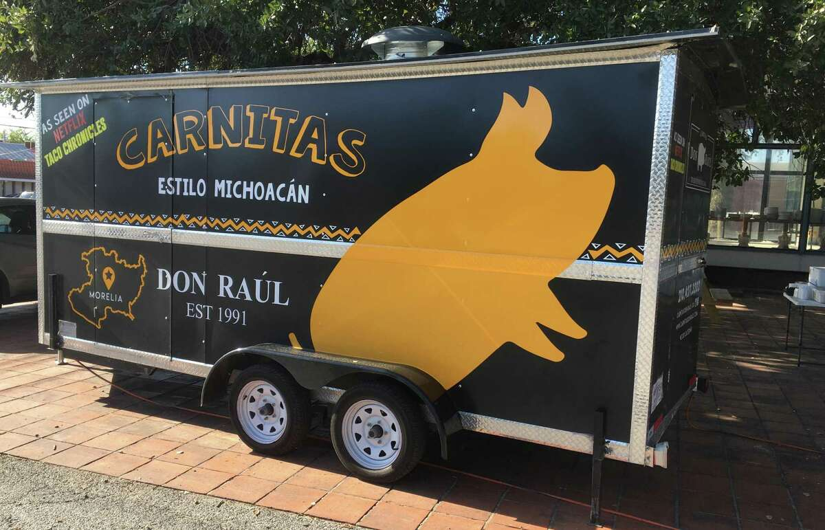 Famed Mexican carnitas spot Carnitas Don Raúl has opened its first U.S. location in San Antonio and is serving slow-cooked pork from a food trailer on Broadway near Brackenridge Park, Staff Writer Chuck Blount reports.