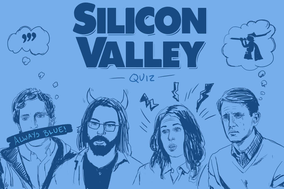 "Click through to see the quiz questions and the ""Silicon Valley"" cast's answers. Photo: Andy Andersen / SFGate"
