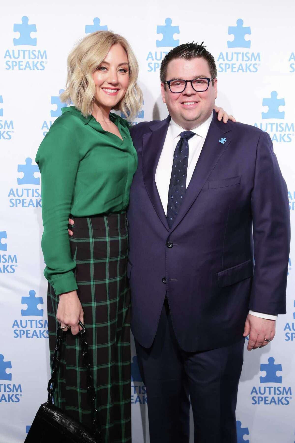NEW YORK, NEW YORK - OCTOBER 15: Aidan Kehoe, CEO & Co-Founder, Skout Cybersecurity and wife, Tricia attend the 13th Annual Autism Speaks Celebrity Chef Gala at Cipriani Wall Street on October 15, 2019 in New York City. (Photo by Cindy Ord/Getty Images for Autism Speaks )