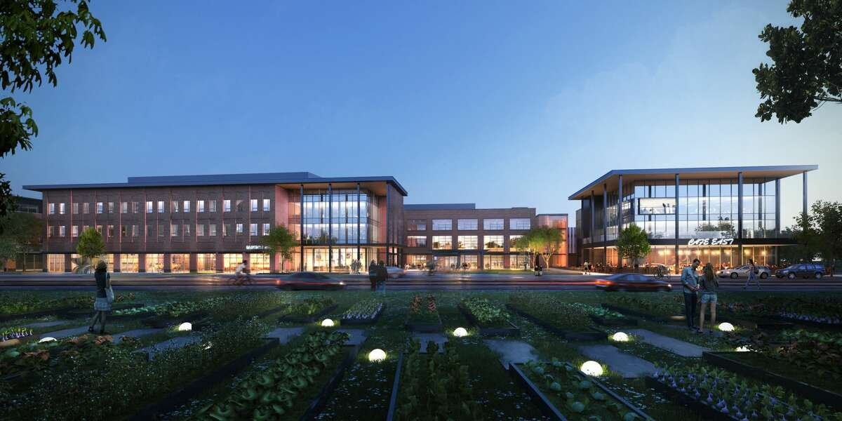 A rendering of the Center for Pursuit's new campus at 4400 Harrisburg Blvd.