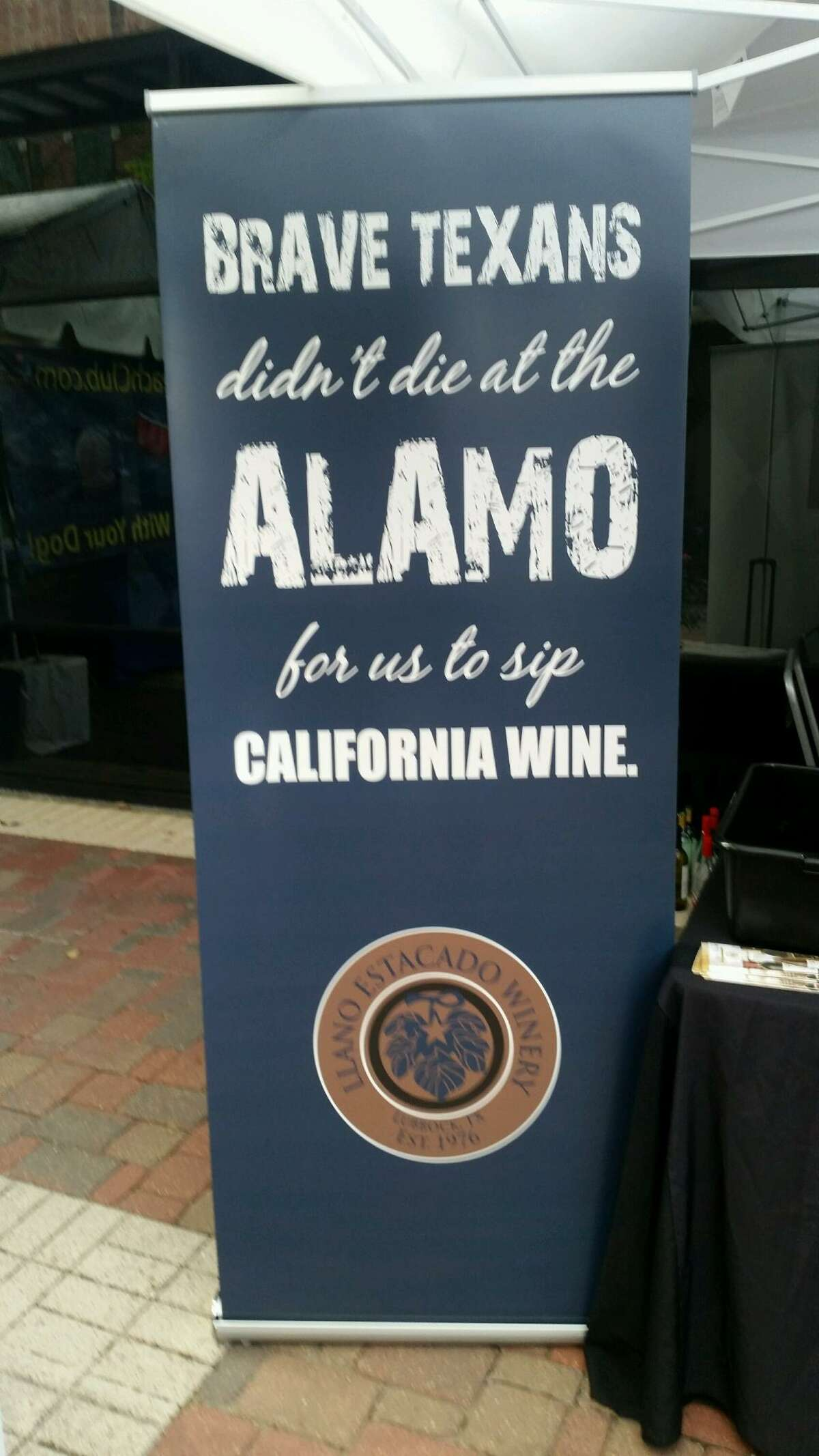 Raise a glass of Texas Wine TODAY to commemorate those brave Texans at the Alamo who died on March 6, 1836!