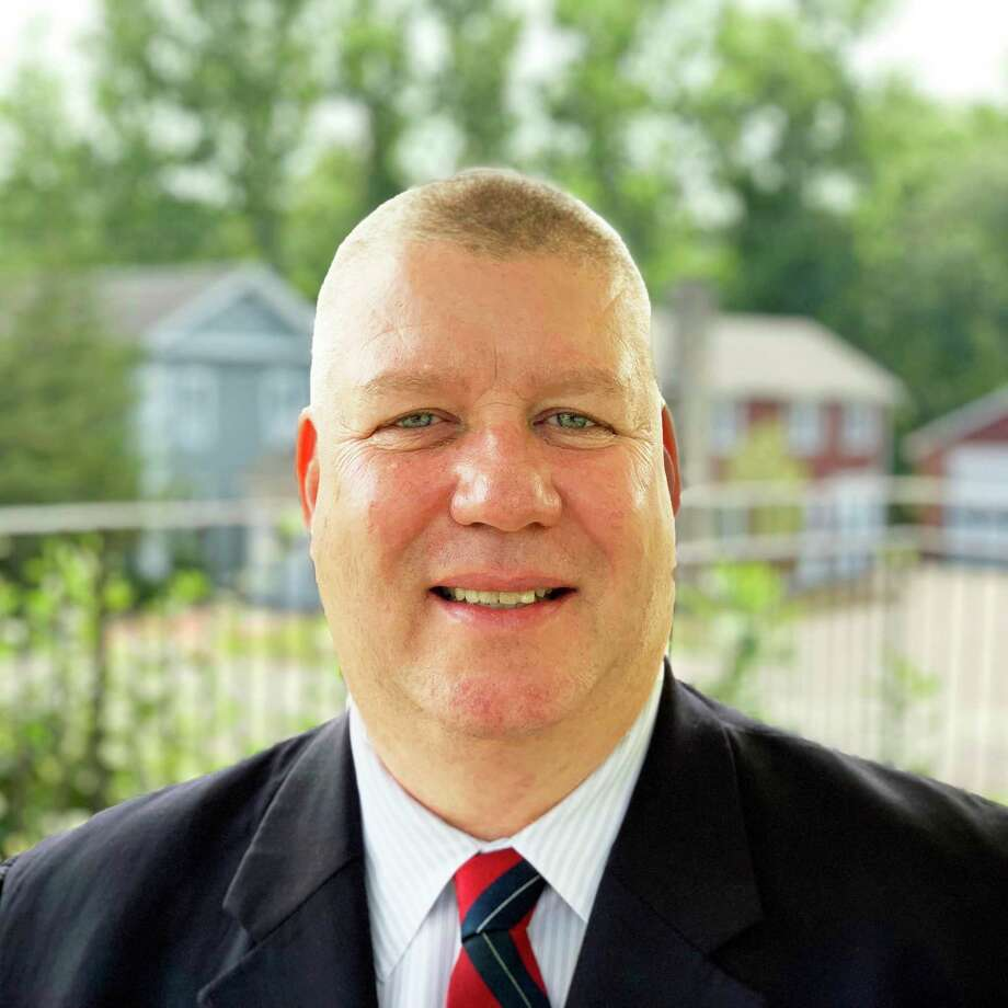 Retired Middletown police officer, Democrat Sean Moriarty, won a selectman seat in Haddam. Photo: Contributed Photo