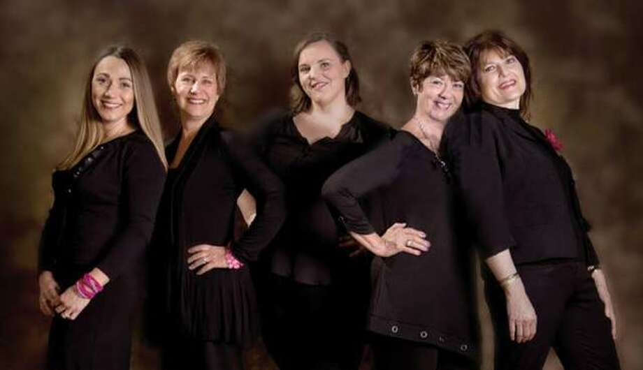 """Love, Loss, and What I Wore"" will be performed Thursday, Oct. 24, at Jacoby Arts Center at 627 E. Broadway Ave., Alton. Cast members, from left, include Dianna Pallas, Donna Wilson, Christy Luster, Carol Hodson and Debbie Maneke."