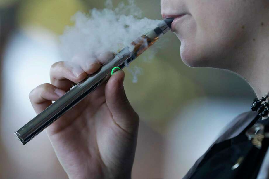 A discussion on the dangers and consequences of youth vaping will take place Wednesday, Oct. 30, 6:30 p.m., at Trackside Teen Center in Wilton. The public is invited. Photo: Tony Dejak / Associated Press / Copyright 2019 The Associated Press. All rights reserved.