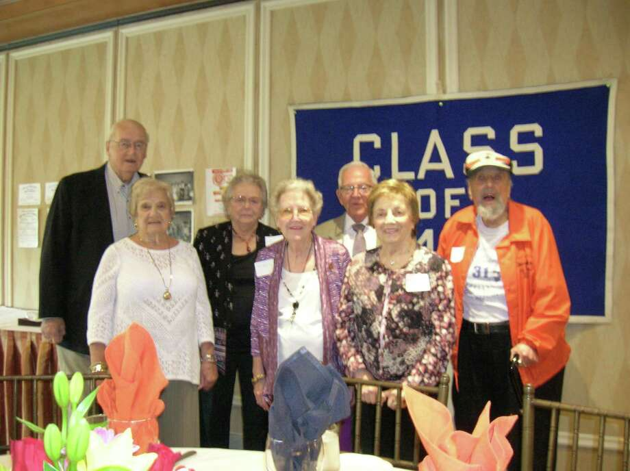 The Stamford High School class of 1949 celebrate their 70th reunion. Photo: Contributed Photo