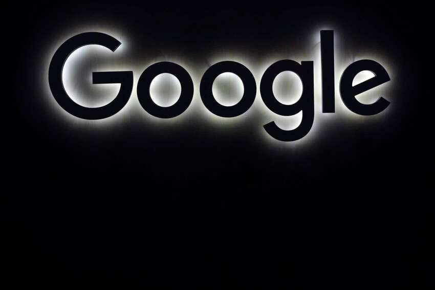 FILE - This Friday, June 16, 2017, file photo shows the Google logo at a gadgets show in Paris. Google said it has achieved a breakthrough in quantum computing research, saying its quantum processor has completed a calculation in just a few minutes that would take a traditional supercomputer thousands of years to finish. (AP Photo/Thibault Camus, File)