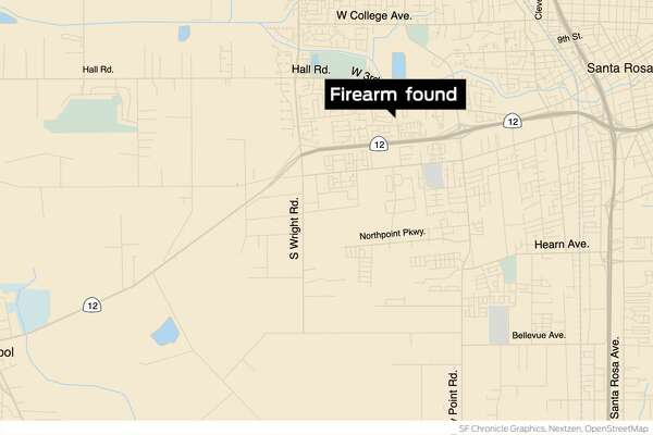 Police find handgun connected to gang-related Santa Rosa ... on baldwin village los angeles map, city of santa ana map, lapd gang injunction map, santa ana el salvador map, oakland crime map, monterey park ca map, city of houston ward map, east la gang territory map, highland park ca map, orange county zip code map, ca santa ana ward map, san antonio crime map, pomona california map, chicago gang turf map, oakland gangs territory map, main place mall aerial map, gangs in california map,