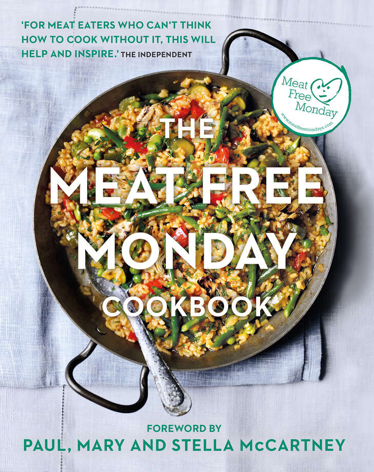 """""""The Meat Free Monday Cookbook: A Full Menu for Every Monday of the Year."""" (Kyle Books) Photo: Kyle Books / Austin American-Statesman"""
