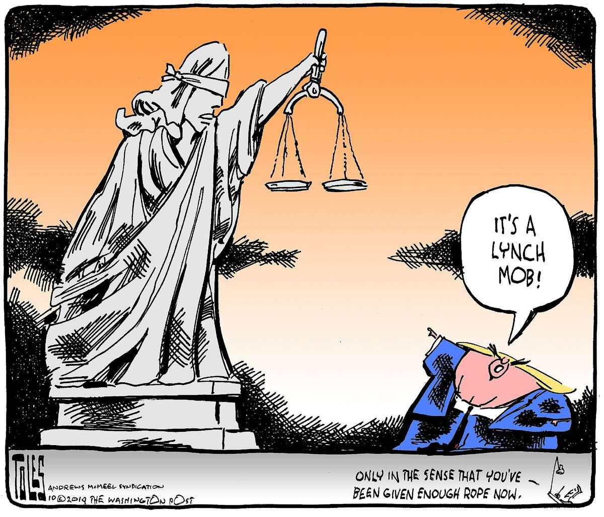 Toles cartoon