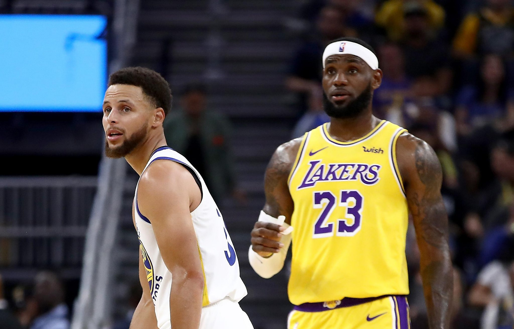 Get your popcorn ready: Steph Curry and LeBron James team up for first time