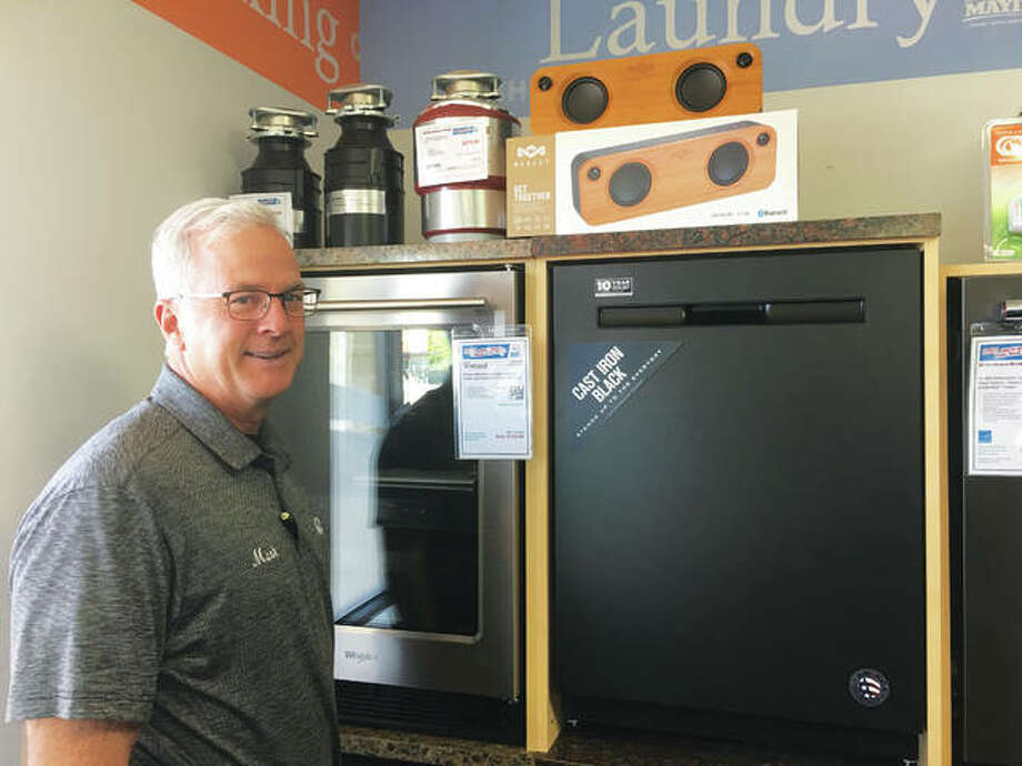 Mark Bradley of Mark's Appliance opened his first store in Edwardsville in 1994, followed by a second in Jerseyville. This summer he added Mark's Appliance Outlet, at 2113 Johnson Road, in Granite City, which is planning a grand opening on Saturday, Oct. 26. Photo: Jill Moon|The Telegraph