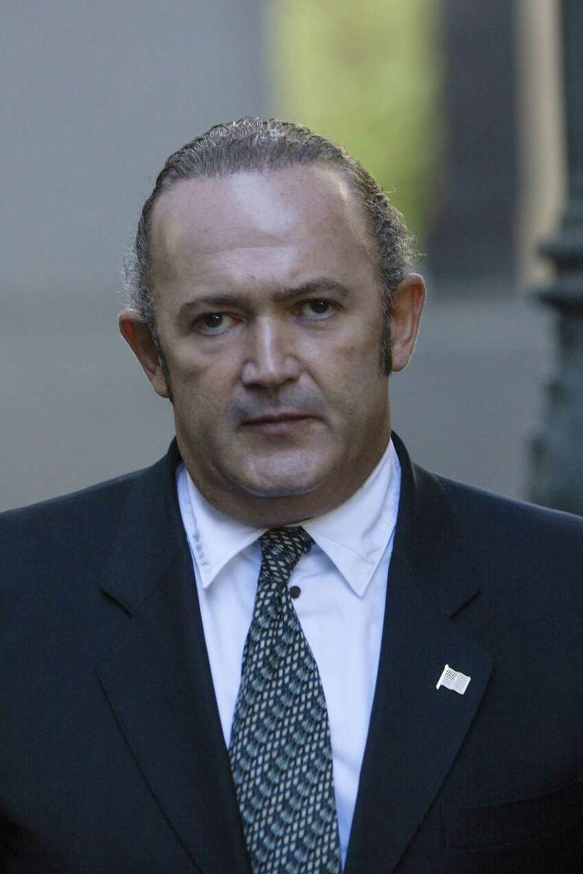 Igor Fruman, an associate of U.S. President Donald Trump's personal lawyer Rudy Giuliani, exits federal court in New York, U.S., on Wednesday, Oct. 23, 2019. Two associates ofA GiulianiA pleaded not guilty to charges that they conspired to launder foreign campaign contributions into U.S. elections, in a case that has heightened scrutiny ofA Giuliani's foreign business ties and his work as personal lawyer to PresidentA Donald Trump. Photographer: Victor J. Blue/Bloomberg