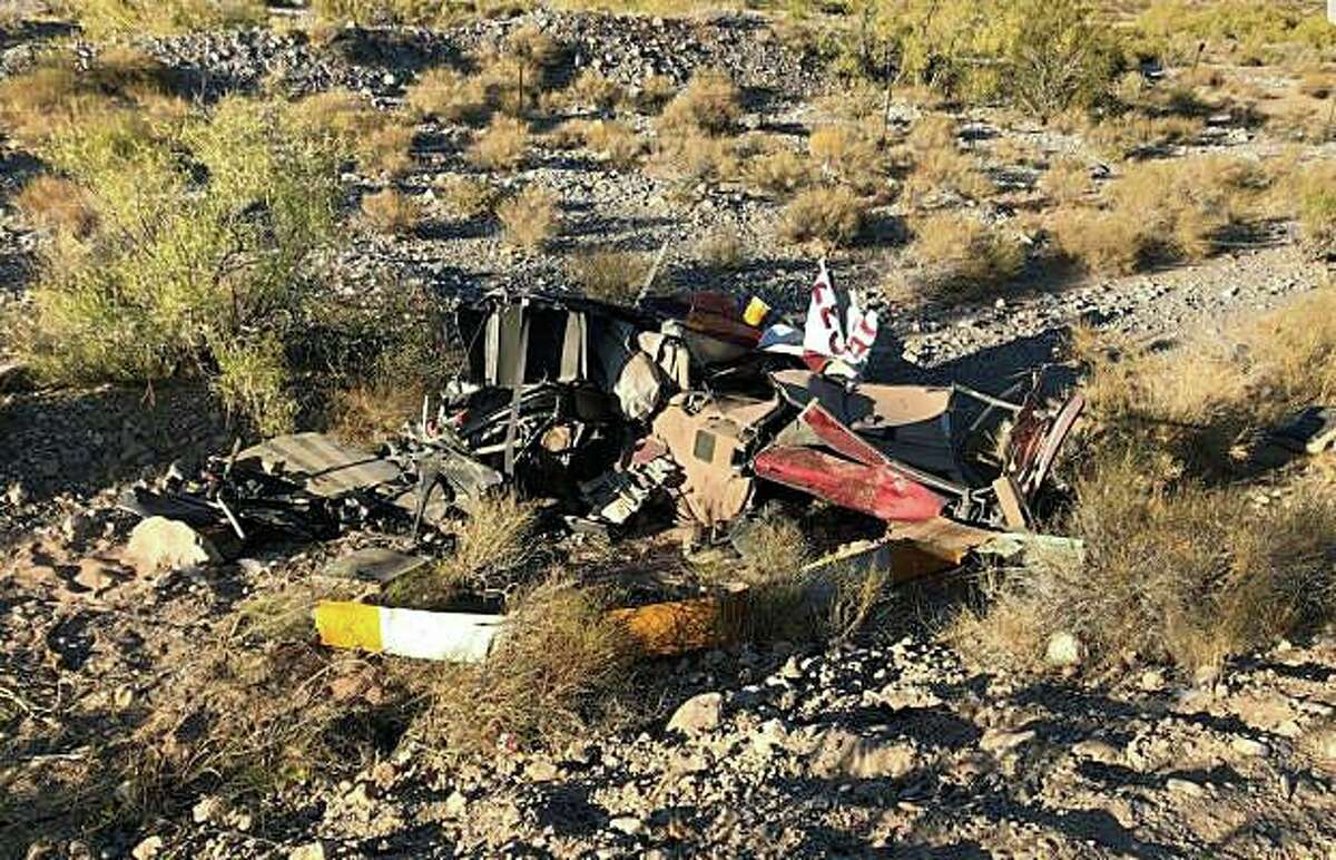 A Connecticut pilot was killed when the rented helicopter he was flying went down in Red Rock Canyon, Nevada, on Wednesday, Oct. 23, 2019. The unidentified Connecticut man was 53 years old and had rented helicopters from Binner Enterprises in Nevada in the past, according to reports