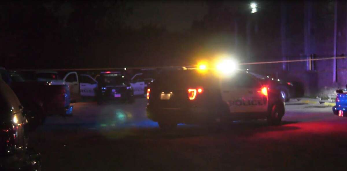A man was killed and another injured Wednesday night in a shooting in north Houston, according to police.
