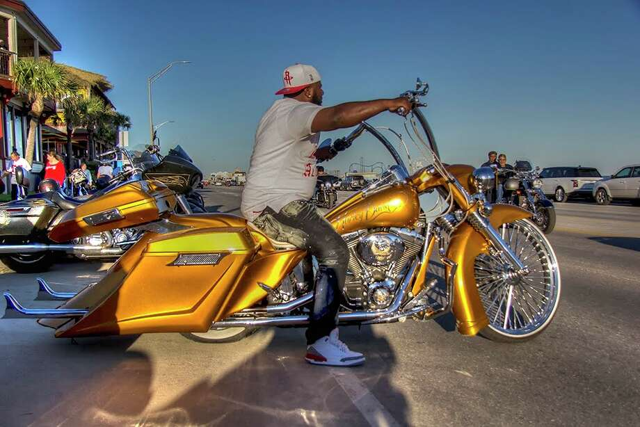 Thousands of motorcycle enthusiasts will descend on Galveston Island this month for the Lone Star Rally, a weekend of non-stop music, shopping, food, and multiple bike and car shows. Photo: Courtesy Lone Star Rally