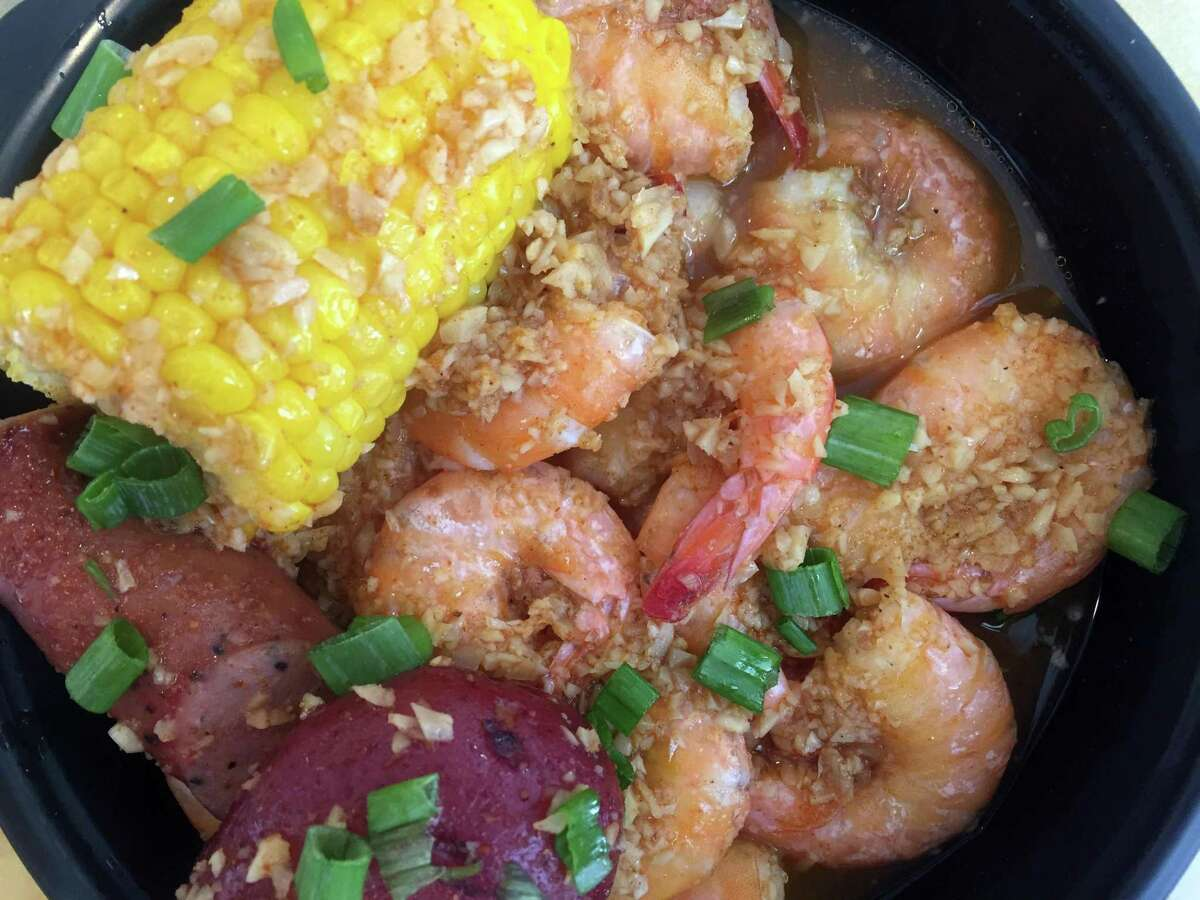 A shrimp boil will be available at the Nov. 3 Chef Cooperatives dinner at Green Bexar Farm.