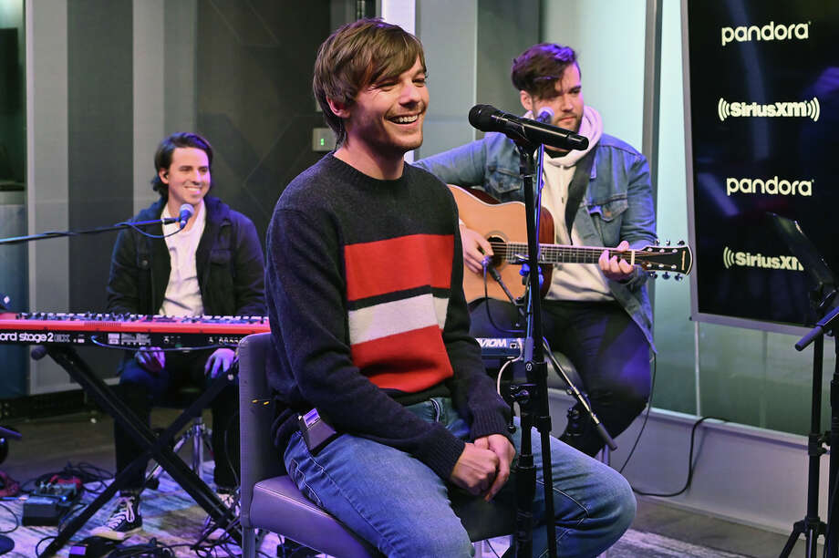 Singer Louis Tomlinson performs live on SiriusXM Hits 1 At The SiriusXM Studios In New York City at SiriusXM Studios on October 24, 2019. Photo: Astrid Stawiarz, Getty Images For SiriusXM / 2019 Getty Images